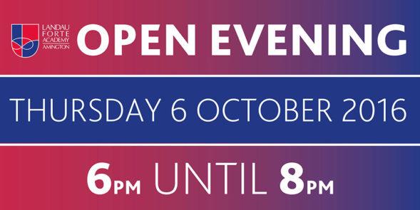 Featured - Open Evening (October 2016)